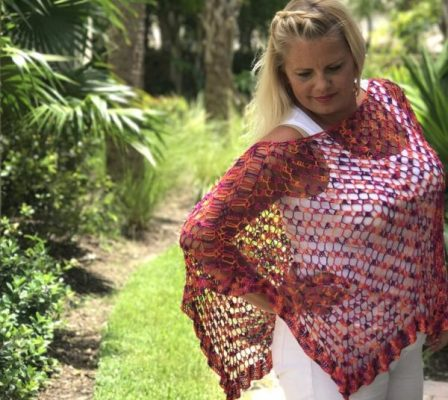 Celebration Poncho Crochet Pattern